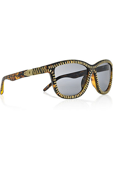 Alexander Wang Zip-Detailed Sunglasses ($390)