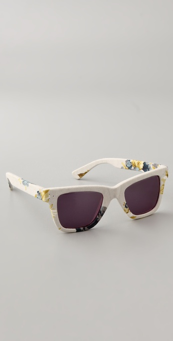 Rodarte for Opening Ceremony Floral Roy Orbison Sunglasses ($218)