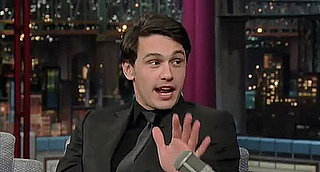 James Franco Responds to Oscar Backlash on The Late Show With David Letterman