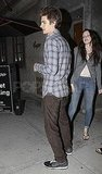 Andrew Garfield and His Girlfriend Make a Date as He Takes a Break From Set