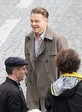 Leonardo DiCaprio Steams Up the Wet Set of His Parisian Commercial
