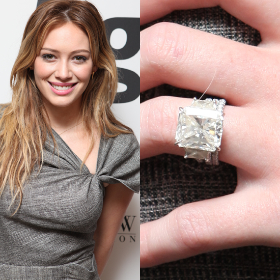 Hilary Duff's Mega Ring