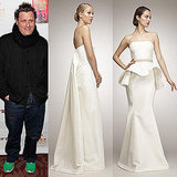 Isaac Mizrahi Designs Six Wedding Gowns Exclusive to The Aisle New York 2011-04-04 08:41:15