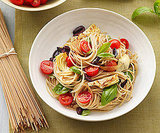 Whole Wheat Pasta With Artichokes, Olives, and Tomatoes