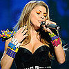 Fergie&#039;s Orange Eye Shadow at the 2011 Kids&#039; Choice Awards