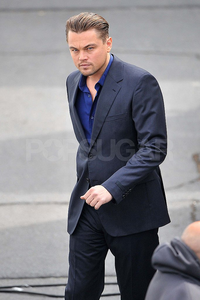 Leonardo DiCaprio Suits Up While Bar Refaeli Shops in Paris