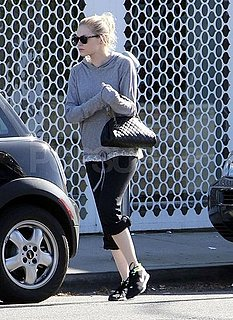 Pictures of Emma Stone Leaving a Workout in LA