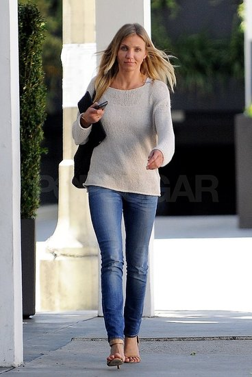 Cameron Diaz Hangs on the West Coast While ARod and the Yankees Crush Their Competition at Home