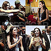 Pictures of Angelina Jolie in Libya
