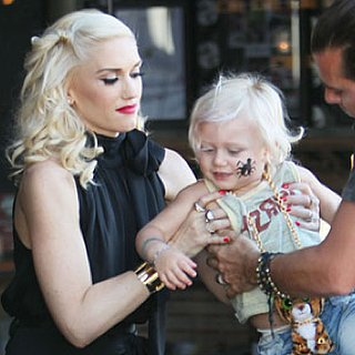 Pictures of Gwen Stefani, Gavin, Zuma, and Kingston Rossdale Eating Lunch at Robata Jinya in LA