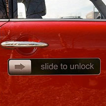 Slide to Unlock iPhone Giant Magnet