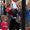 Pictures of Nicole Richie With Harlow and Sparrow at Park