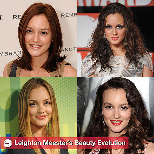 Leighton Meester's Hair and Makeup Over the Years 2011-04-08 14:02:54