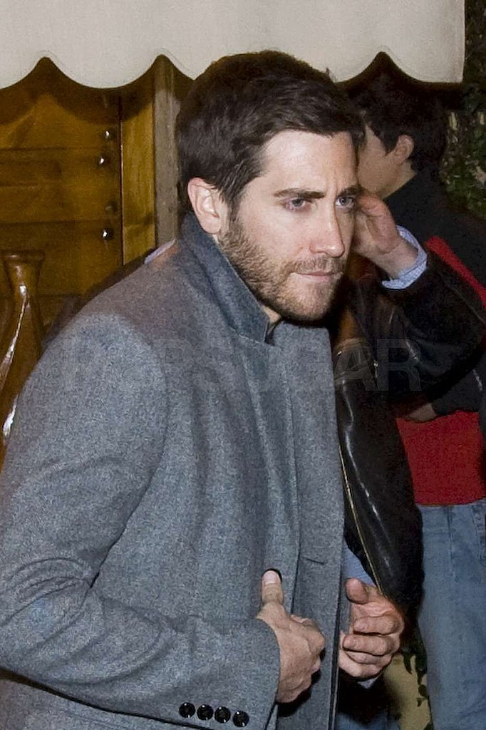 Jake Gyllenhaal Goes Straight to the Source For an Italian Dinner