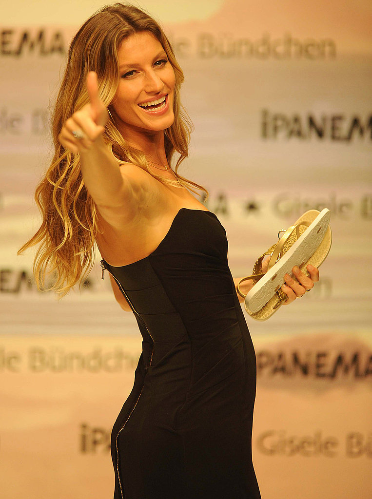 Gisele Bundchen Gets Playful in a Minidress For Ipanema in Istanbul
