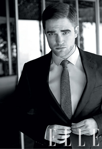 Robert Pattinson Looks Sexy Suited Up and Talks the End of Twilight in Elle