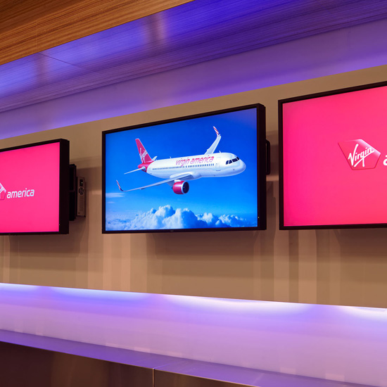 What Other Airlines Can Learn From Virgin America's New Tech-Savvy SFO Terminal