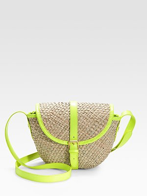 Marc by Marc Jacobs Straw Canteen Bag ($148)