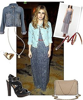 Pictures of Emma Roberts at Textile Elizabeth and James Party