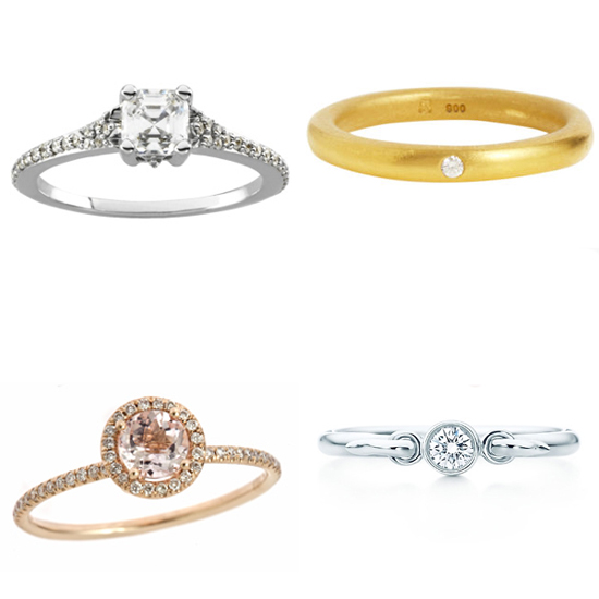 10 gorgeous engagement rings under 1000 popsugar fashion With wedding rings under 1000
