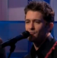 "Matthew Morrison Performs ""Summer Rain"" on Leno"