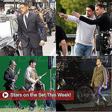 Leonardo DiCaprio, Will Smith, and Clive Owen Pictures on Sets