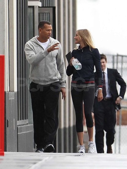 Cameron Diaz and ARod's Loving Workout Ahead of Yankees vs. Red Sox Showdown