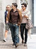 Halle Berry and Olivier Martinez Link Up For Lunch