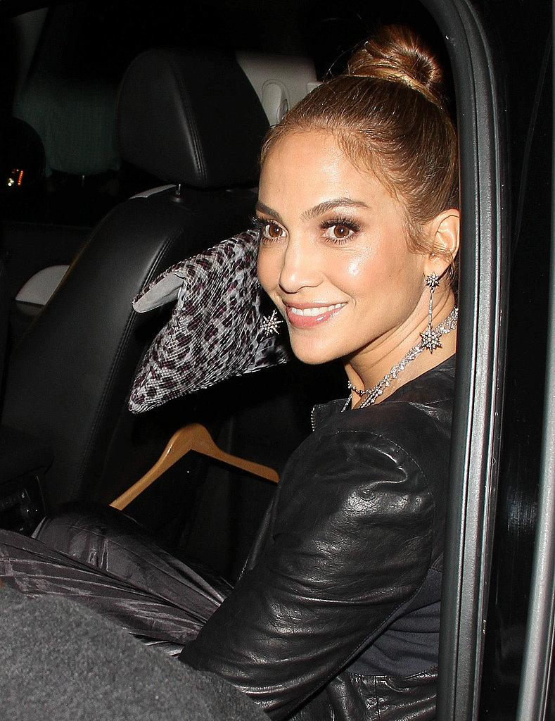 Jennifer Lopez Smiles Through American Idol's Elimination Shocker