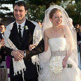 First Daughter Chelsea Clinton married Marc Mezvinsky outside of NYC in August of 2010.
