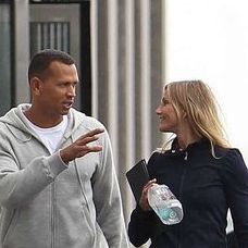 Pictures of Cameron Diaz and Alex Rodriguez Working Out Together