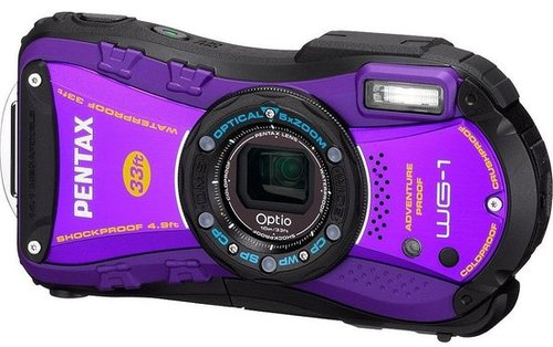 Waterproof Digital Camera Pentax Optio WG-1