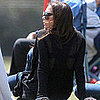 Pregnant Victoria Beckham Pictures With Son Romeo in LA