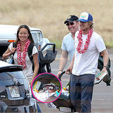 Pictures of Owen Wilson With Baby and Jade Duell