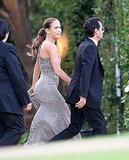 Brad, Tom, Katie, J Lo and More Step Out For Producer Brad Grey's Wedding