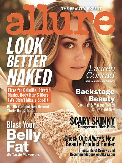 "Lauren Conrad Gets ""Cute"" While Ashley Tisdale and Others Go Nude For Allure"