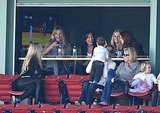 Cameron Diaz Joins Joanna Garcia-Swisher to Cheer on the Yankees