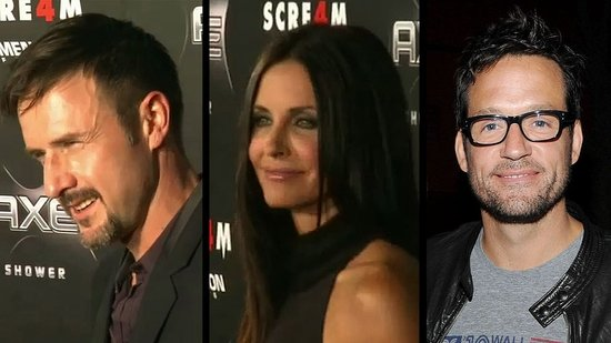 Video: Courteney Has Both David and Josh on Scream Red Carpet as David Talks About Their Future as a Couple!