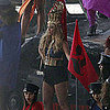 Pictures of Beyoncé Knowles Filming Music Video