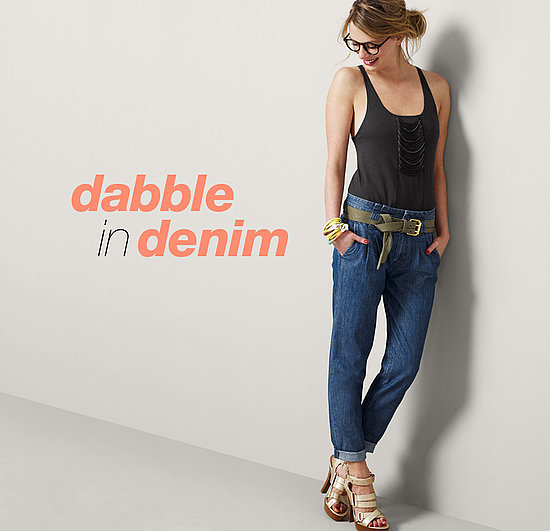 An adorable, easy pair of lightweight denim that look great with heels, flats, sneakers, or stilettos – these are seasonal go-anywhere jeans.  Shop the look