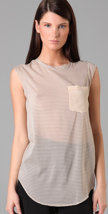 3.1 Phillip Lim Striped Pocket Top ($275)