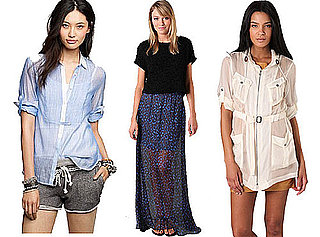 Best Sheer Tops, Dresses, and Skirts For Spring 2011