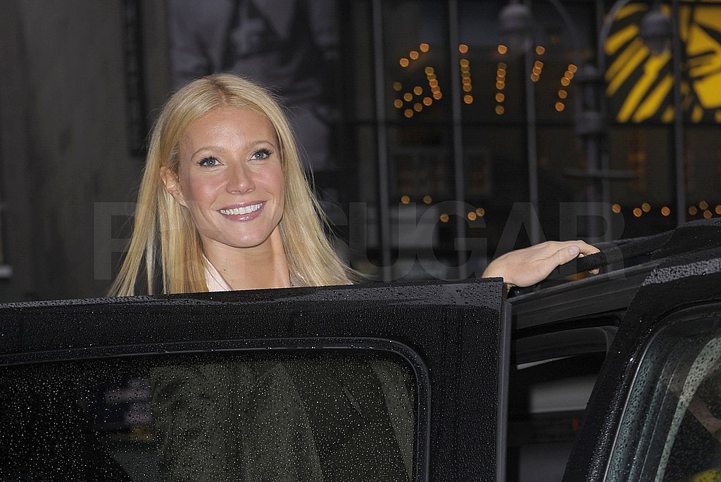 Gwyneth Paltrow Piles GMA, Glee, and Good Cooking on Her Plate