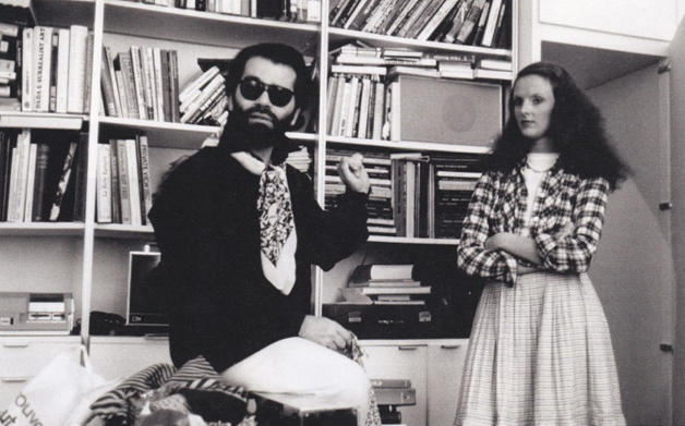 Coddington with Karl Lagerfeld, 1974