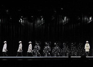 Watch Highlights From Burberry's Visual Effect-Heavy Beijing Show, in Which Models Appear to Disappear