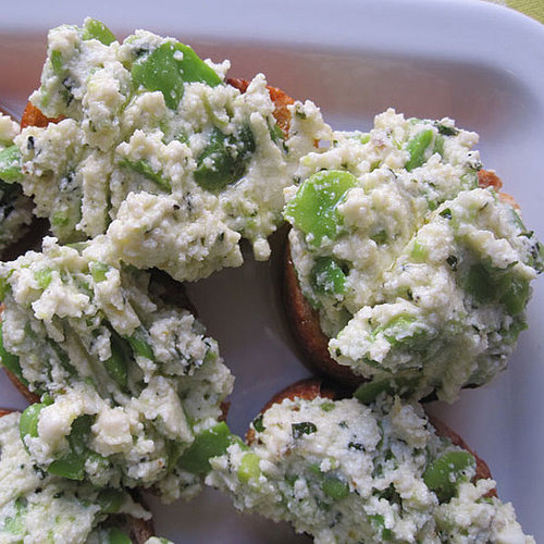 Fava Bean Crostini Recipe