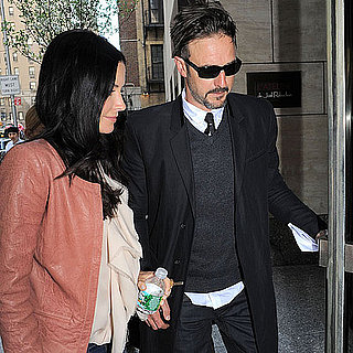 Pictures of Courteney Cox at Good Morning America