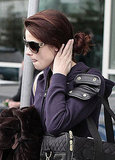 Breaking Dawn's Ashley Greene, Kellan Lutz, and Jackson Rathbone Take Off From Vancouver