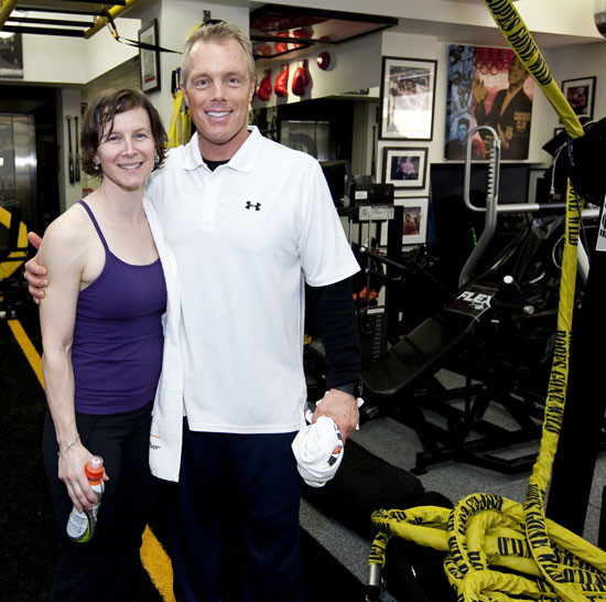 Take a Tour of Gunnar Peterson's Beverly Hills Gym