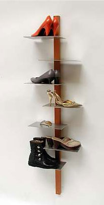 Bring your favorite pairs of shoes out of the closet and into the spotlight with the Shoe Shelf from 659 Design ($660).